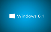 Background Windows 8.1 Schriftzug 8