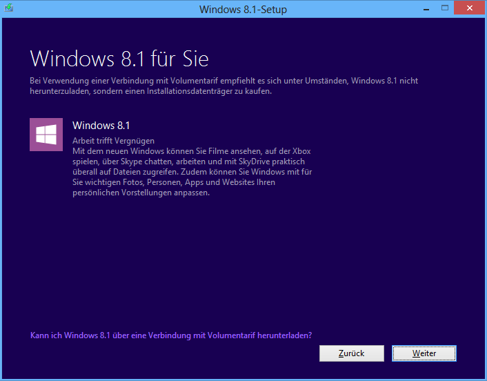 Windows 8.1 Core Download-Version