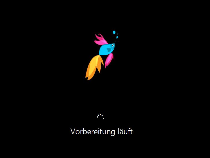 Windows 8.1 Installation: Geräte-Erkennung
