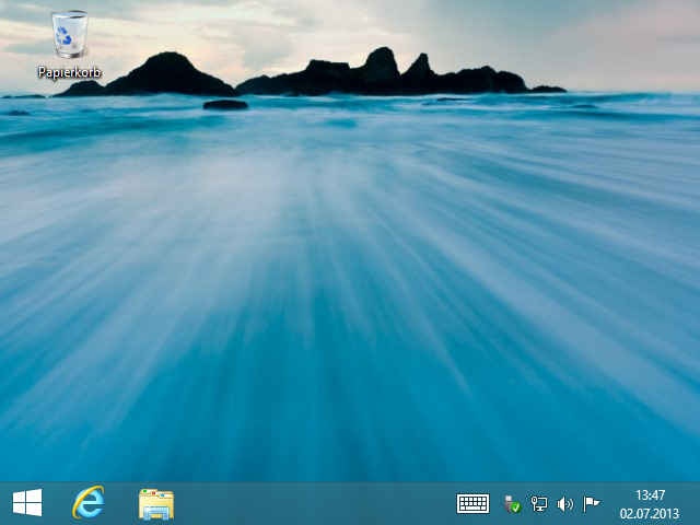 Windows 8.1 Installation: Desktop