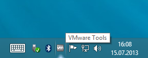 VMware Tools Systemtray Icon
